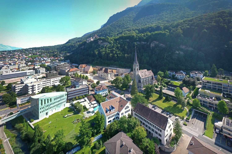 Luftaufnahme St. Florin
